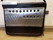 chevy gmc c10 aluminum door panel insert custom premium design