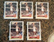 5 1992 McDonalds Upper Deck Bulls 12 card Team Set Michael Jordan PLUS 10 Packs