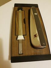 Vintage Electric Carving Knife Hamilton Beach Model 270 Wall Mount Storage Case