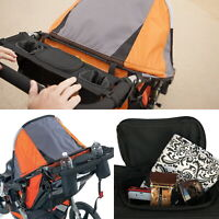 Pram Organizer Bag Baby Stroller with Cup Holder for Pushchair Stroller Jogger