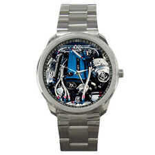 New MAZDA RX7 TURBO ENGINE style sport metal watch free shipping