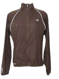 Pearl Izumi Mens Medium Brown Elite Barrier Convert Jacket- Bootlegger 50k Event