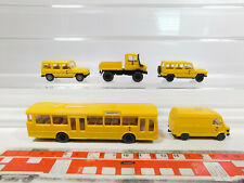 Ck960-0, 5# 5x Wiking h0/1:87 post -/DBP-modelo MB: Unimog + G-clase etc, Neuw