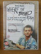 WHERE THE BUFFALO ROAM - DVD MOVIE 1980 - BILL MURRAY