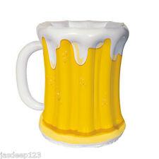 Inflatable Beer Mug Glass Cooler Summer Outdoor Party Drinks Bottle BBQ Supplies