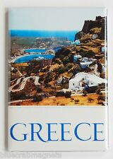 Greece Travel FRIDGE MAGNET (2.5 x 3.5 inches) poster vacation holiday