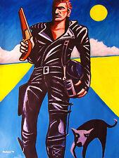 THE ROAD WARRIOR PRINT poster mel gibson mad max beyond thunderdome australia