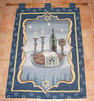 Shabbat Tapestry Wall Hanging ~ Judaica Collection