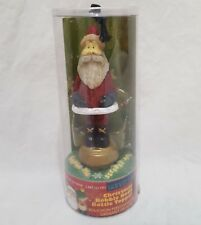 Christmas Santa Body Bobble Bottle Topper Wine Stopper Whimsical