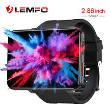 Lemfo LEMT smartwatch Android 7.1 3+32G GPS podomètre Heart rate for Android ios