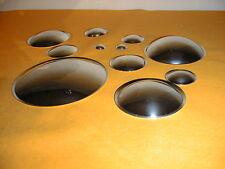 Dust Cap hochwertige Lautsprecher Staubkappen Chrom 2 x C105