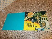 ALBUM CIELO E TERRA ED.IMPERIA 1975 COMPLETO BELLO NO PANINI EDIS LAMPO FLASH