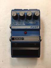 DOD Digitech FX67 Stereo Turbo Dual Analog Chorus Rare Vintage Guitar Pedal