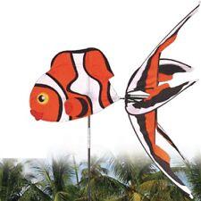 Moulin à vent Poisson clown Nemo animal marin, wind spinner, Windspiel