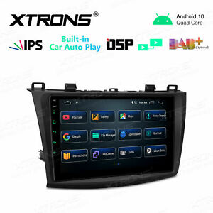 """9"""" Android 10 CANbus Car GPS Stereo Radio DSP Car Auto Play For Mazda3 2010-2013"""