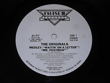 "The Originals: Medley: Waitin' On A Letter/Mr. Postman 12"""