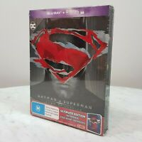BATMAN V SUPERMAN Dawn of Justice Reversible Steelbook Ultimate Edition NEW