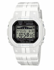New Casio G-Shock GWX5600WA-7 Multiband Tough Solar Digital Men's White Watch
