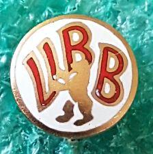 VERBAND BERLINER BALLSPIELVEREIN -GERMAN SOCCER VERBAND OLD PIN BADGE