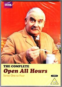OPEN ALL HOURS COMPLETE SERIES 1-4 DVD REGION 4 Ronnie Barker New & Sealed