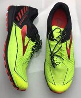 NEW Brooks Mazama D Volt Black Red Trail Running Shoes (1102351 D) Mens 12.5