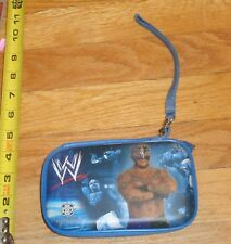 2010 WWF WWE Rey Mysterio Wrestling Glasses case Coin Purse WCW NWO AAA Lucha