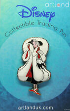 Disney U.K. Artland Cruella Cut Out Villains Collection Le250 Pin New