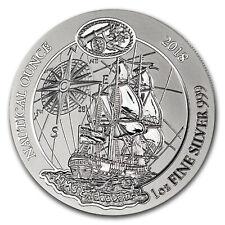 2018 Rwanda 1 oz Silver Nautical Ounce Endeavour BU - SKU#167284