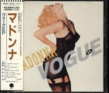 MADONNA Vogue EP JAPAN CD 6 Tracks 1990 WPCP-3698 W/Obi RARE!