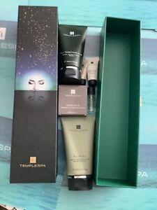 Temple Spa Gift Set All In All Body Wash Moisturiser Cleansing Bar Mini Samples