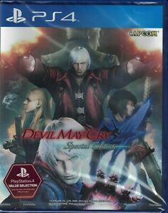 Devil May Cry 4 - Special Edition [Sony PlayStation 4 PS4 Region Free Dante] NEW