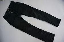 PLEASE Damen Jeans super stretch Hose Gr.S L30 small schwarz slim skinny TOP#12k