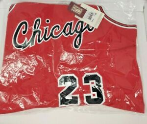 Chicago Bulls Michael Jordan #23 Mitchell & Ness 1984-85 Authentic Jersey 56 3XL