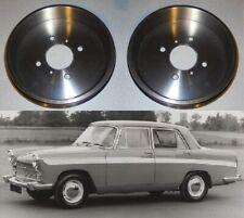 (x2) AUSTIN A60 Cambridge    REAR BRAKE DRUMS    (1961- 71)