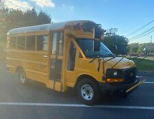 Mini School Bus - V8 Gas - SRW - Skoolie / RV / TINY HOME / FOOD TRUCK