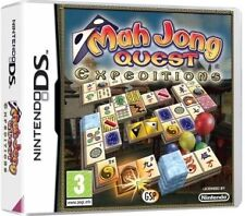 mAh Jong Quest Expeditions Nintendo DS 3 Board Game