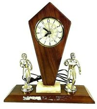 Vintage Trophy Bowling Clock Bowling Lanshire *WORKING GREAT* Collectors