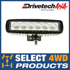 "DRIVETECH 4X4 6"" LED WORKLIGHT. BEST VALUE MULTI-PURPOSE WORK LIGHT BAR"