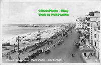 R093235 Kings Road and West Pier. Brighton. RP. 1946