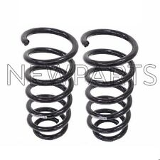 Audi A6 Quattro Wagon Pair Set of Rear Left & Right Standard Coil Springs MUBEA