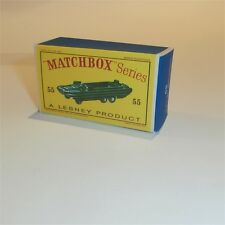 Matchbox Lesney 55 a DUKW Military Amphibian empty Repro D style Box