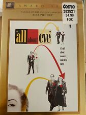 All About Eve (Dvd, 2007, Gold O-Ring Packaging) Never Opened original packaging