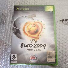 VINTAGE#UEFA EURO 2004 PORTUGAL XBOX NUOVO# FACTORY SEALED PAL