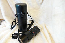Tamron SP 70-210mm 1:3.5 Zoom Lens Adaptall 2 Mount Rare Early EXCELLENT COND