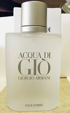 GIORGIO ARMANI ACQUA DI GIO MEN 3.4 0Z EDT SPRAY 100% ORIGINAL CK MY FB AS PIX