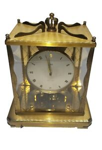Schatz 1000 Day Clock Brass Mantel Clock Germany