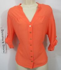 NWT BEBE DOLMAN TAB 3/4 SLEEVE TOP SIZE XS Classy and confy!!