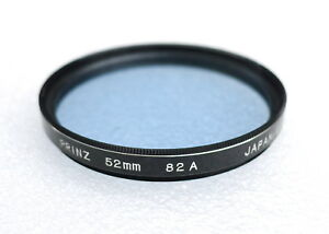 52mm PRINZ 82A Filter - Blue Color Correction Filter - PERFECT LN