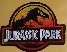 Jurassic Park Sticker 'Old School' | '90s Movie Memorabilia | Dinosaur Decal
