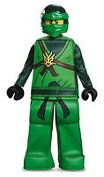 Lloyd Prestige Lego Ninjago Ninja Fancy Dress Halloween Deluxe Child Costume